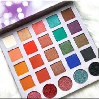 Wonderland Glam Eyeshadow & Glitter Palette