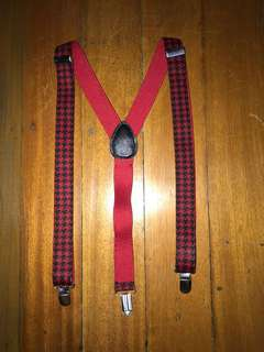 Claire's ; printed suspenders