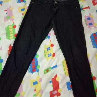 Forever 21 Black Denim Pants