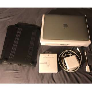 "Apple MacBook Pro 13"" 16GB 256GB i7, 2017"