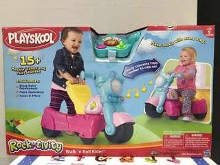 Playskool walk & roll rider