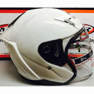 Helmet MHR OF622 Beatz White