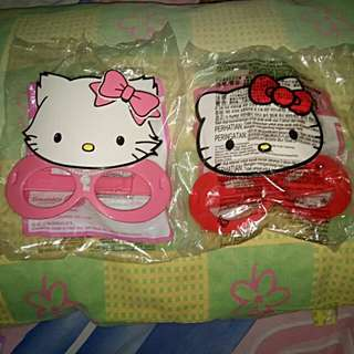 Mainan topeng Hello Kitty