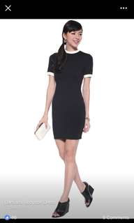 Love Bonito Damiana Bodycon Dress Small Black