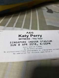 Katy Perry Live in Singapore