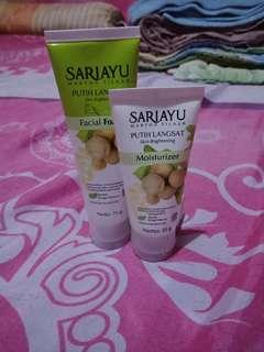 Facial foam dan moisturizer