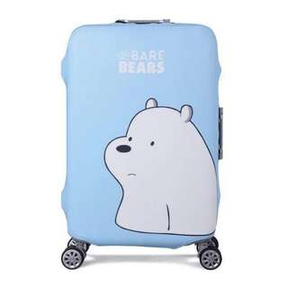 We Bare Bears Luggage Cover