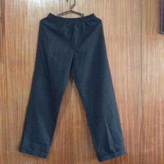 Pre Loved High Waisted Black Trousers