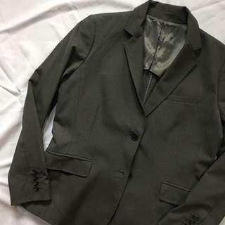 Uniqlo Grey Coat
