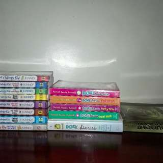 DIARY OF A WIMPY KID / DORK DIARIES / INSURGENT