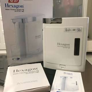 Hexagon Water Filtration System 2 (without Filters)