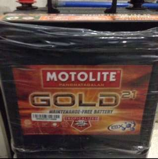 C43 Motolite Gold Battery