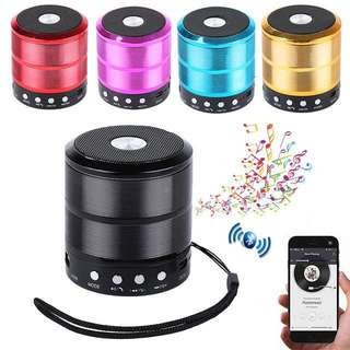 WS-887 Mini Bluetooth Speaker with Aux USB Support ws887