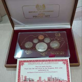 1982 Singapore Proof Coin Set
