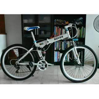 ROVER foldable Mountain Bike-(with gear)