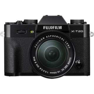 Kredit Fujifilm X-T20 16-50mm Tanpa Kartu kredit