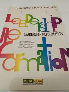 Leadership Reformation