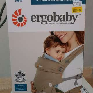 Ergobaby 360 Carrier four position
