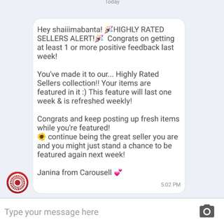 Thank you Carousell! 😍😍