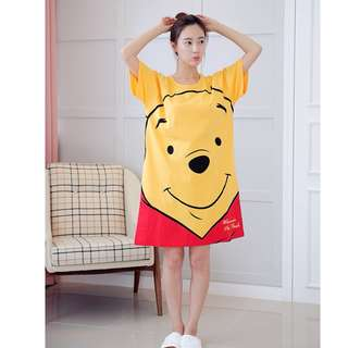 BMT431 - Winnie the Pooh PJ Dress *Cotton*