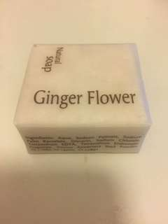 New natural soap aromatherapy ginger flower 60 g