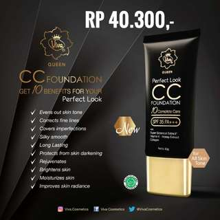 CC Cream SPF 35 Viva Cosmetics