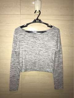 H&M divided ; fitted long sleeve