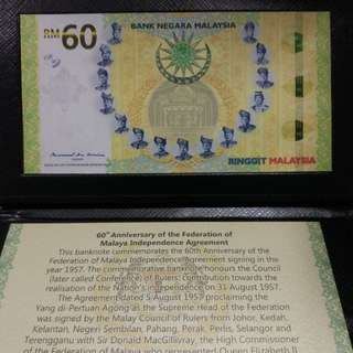 RM60 Commerative Note