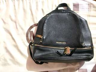 MK Rhea backpack in black