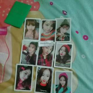 Twice Merry And Happy Preoder Card