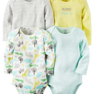 BNWOT Original Carter's Bodysuits (Pack of 4)