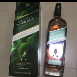 Johnnie Walker Green Label island green 1L