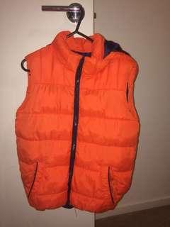 Boys puffer jacket/vest