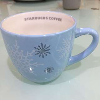 Starbucks Coffee snowflake mug