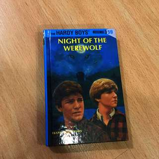Hardy Boys Night of the Werewolf