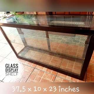 Glass Display Shelf / Cabinet