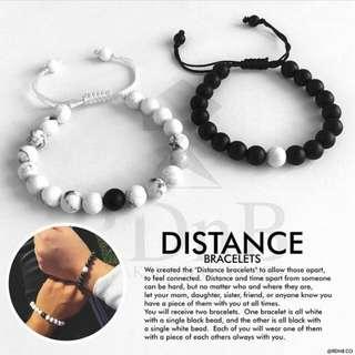 Distance Bracelets COUPLE