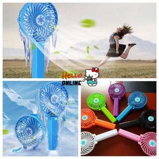 Handy USB Fan Foldable Handle Mini Charging Electric Fans