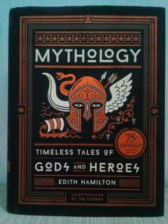 Mythology 75th Anniversary Illustrated Edition