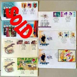 First Day Cover Year 2006
