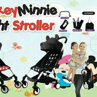 MICKEY MINNIE STROLLER