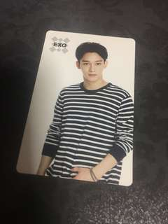 LAST - Instock Official Exo sum cafe Chen photocard pc