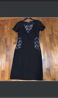 Gorgeous Modest Lace Dress From France