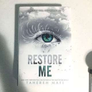 Restore Me (Hardbound)