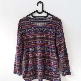 Blouse Tribal XL