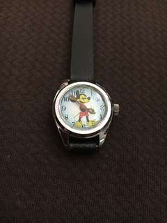 Vintage Mickey Mouse Winding Analog Watch
