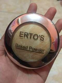 ERTO'S BAKED POWDER