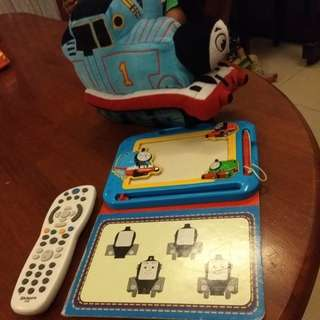 Thomas plush and magnetic writing pad