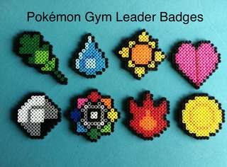 Pokemon Gym Leader Badges
