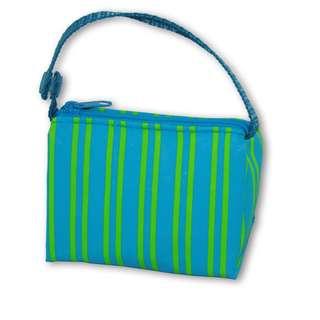 BooginHead Pacifier Pouch - Blue Green Stripe